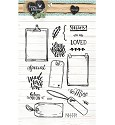 Clearstamp - Studio Light - Love & Home STAMPLH126