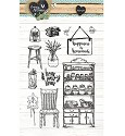 PRE-ORDER 6 - Clearstamp - Studio Light - Love & Home STAMPLH125
