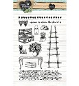 PRE-ORDER 6 - Clearstamp - Studio Light - Love & Home STAMPLH124