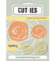 Stansmal Kippers Hobby - CUT-TIES - Spring Swirl