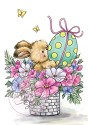 Clear stamp - Wild Rose Studio`s - Easter Bunny