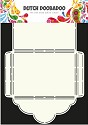 PRE-ORDER 4 - Dutch Doobadoo - Dutch Enveloppe Art - Scallop 2