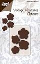 Noor! Design - Vintage Flourishes - Bloem 5 blad