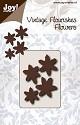 Noor! Design - Vintage Flourishes - Bloem 6 blad punt