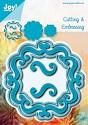 Noor! Design - Blauwe mal - Vierkant accolades 2
