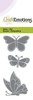 CraftEmotions Die - vlinders Card 5x10cm