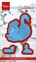 Creatable Marianne Design - Tiny`s swans