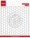 Clearstamp Marianne Design - Background Chicken Wire