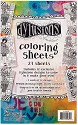 Dyan Reaveley`s - Dylusions - Colouring Sheets - 5