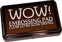 WOW - Clear Ultra Slow Drying Embossing Pad