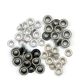 We R Memory Keepers - Eyelets Standard - Cold Metal