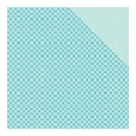 Scrappapier Authentique - Cuddle Boy - Foundations #1 Gingham/Light Blue Solid