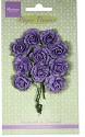 Marianne Design - Paper Flowers - Carnations Dark lavender