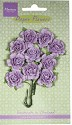 Marianne Design - Paper Flowers - Carnations Light lavender