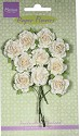 Marianne Design - Paper Flowers - Carnations White