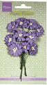 Marianne Design - Paper Flowers - Daisies Dark Lavender