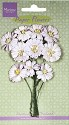 Marianne Design - Paper Flowers - Daisies White