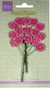 Marianne Design - Paper Flowers - Roses Bright Pink
