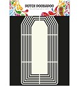 Dutch Doobadoo - Dutch Shape Art - XL Tag (A4)