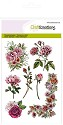 Clearstamp - CraftEmotions - Botanical Rose Garden 1