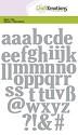 Stansmal CraftEmotions - Alfabet Kleine letters