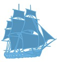 Marianne Design - Creatable - Tiny`s Tall ship