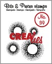 Clearstamp Crealies - Bits & Pieces - No 39