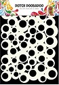 PRE-ORDER 1 - Dutch Doobadoo - Dutch Mask Art - A5 Bubbles 2