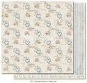Scrappapier Maja Design - Vintage Romance - Deep love