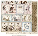 Scrappapier Maja Design - Vintage Romance - Ephemera cards
