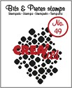 Clearstamp Crealies - Bits & Pieces - No 49