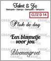 Clearstamp Crealies - Tekst & Zo - Divers 14
