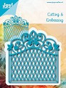 Noor! Design - Cutting & Embossing stencil - Blauwe mal - Hek groot