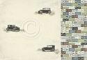 Scrappapier Pion Design - Mister Tom`s Treasures - Vintage automobiles