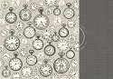 Scrappapier Pion Design - Mister Tom`s Treasures - Pocket Watches