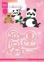 Marianne Design - Collectables - Eline`s panda & bear