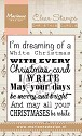 Marianne Design - Clearstamp - White Christmas