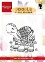Marianne Design - Clearstamp - Doodle turtle