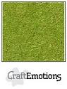 CraftEmotions - Kraft cardstock 30,5 x 30,5 cm - Emerald groen