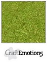CraftEmotions - Kraft cardstock A4 - Emerald Groen