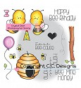 Stempel C.C. Designs - Meoples - Bee-cause Set