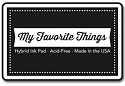 Stempelink My Favorite Things - Hybrid Ink Pad - Black Licorice
