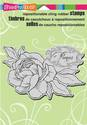 Cling stamp - Stampendous - Peony Spray