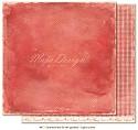 Scrappapier Maja Design - Summertime - Light Scarlet