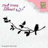 Clearstamp Nellie Snellen - Silhouette clear stamps - Birdsong-1
