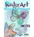 WaterArt Aquarelpapier - 20 sheets / A4 / 185 grs