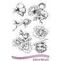 Rubberstamp - Katzelkraft - Les roses