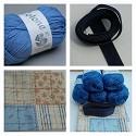 Haakpakket - Granny & Bobbelstitch tas - Blue Cotone 11