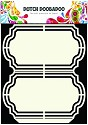 PRE-ORDER 6 - Dutch Doobadoo - Dutch Shape Art - Frames Ornament