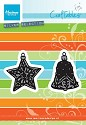 Marianne Design - Craftables - Tiny`s Ornaments Star & Bell